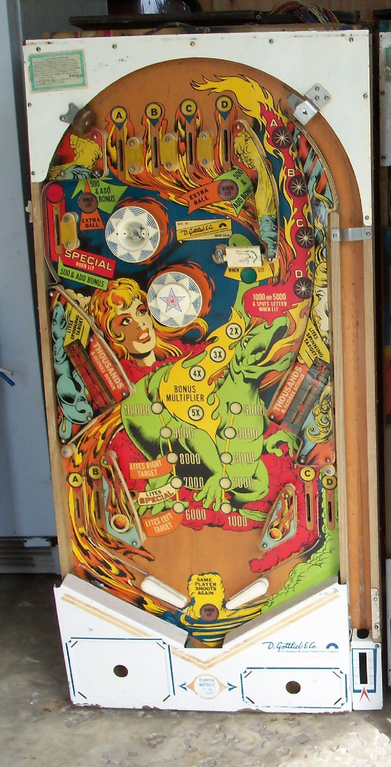 Rem Pinball Vintage Pinball Machines And Parts For Sale