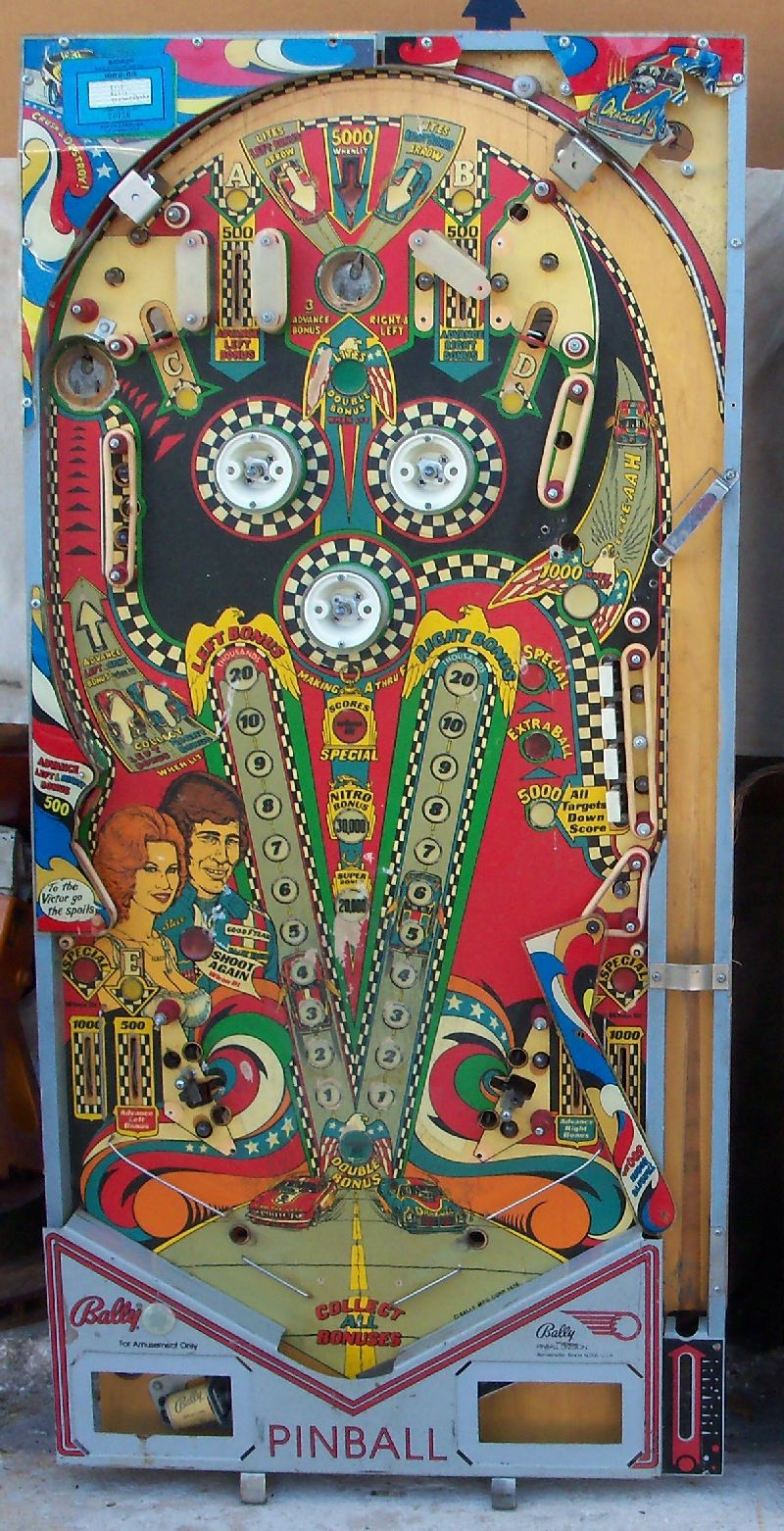 REM Pinball - Vintage Pinball Machines and Parts For Sale | 800 x 1562 jpeg 302kB
